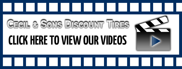 Cecil & Sons Discount Tires Videos