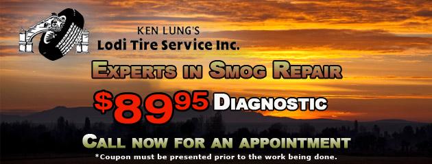 Lodi Tire Service Smog