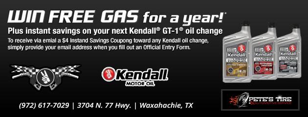 Win Free Gas!