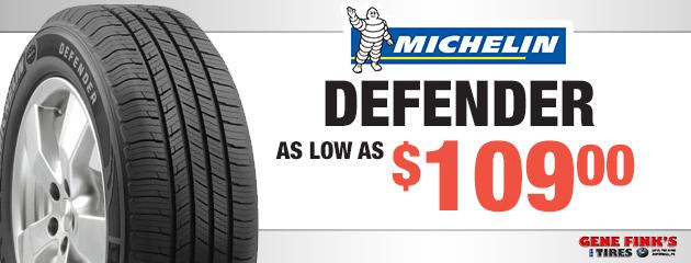 Michelin Defender Prices