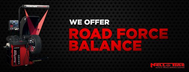 Road force balance