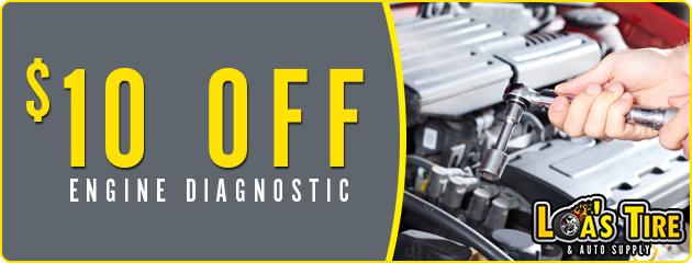 $10 Off Engine Diagnostics