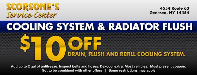 Cooling System &Radiator Flush