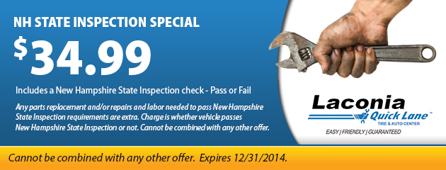 NH State Inspection Special