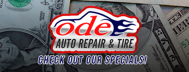 Check out our specials!