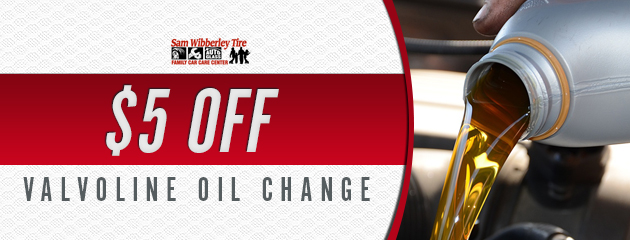 $5 Off Valvoline Oil Change