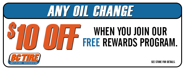 $10 off any oil change