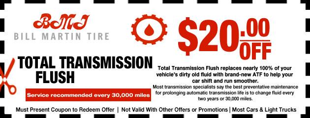 Transmission Flush Special