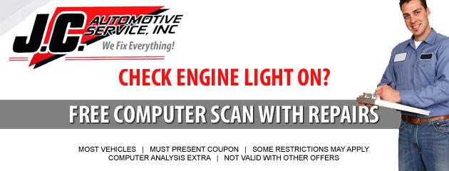 Check engine line on