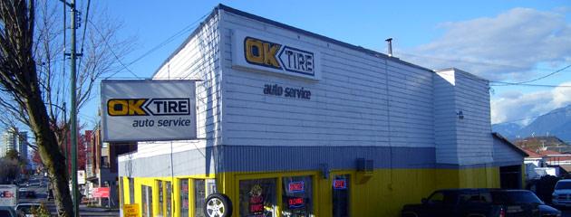 OK TIRE Vancouver Location