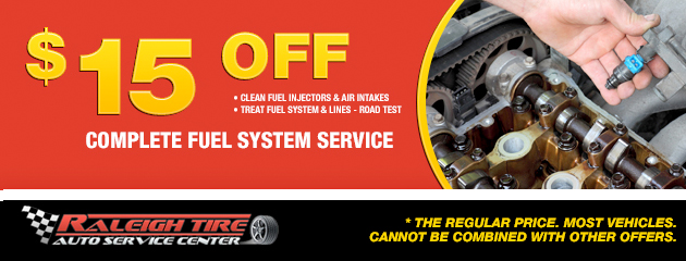 $15 Off Fuel System Service