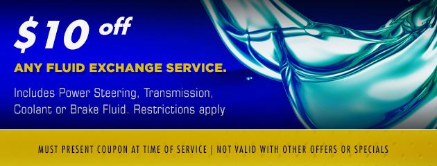 Fluid Exchange Service