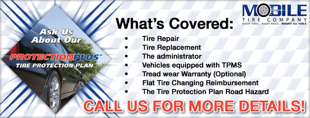 Protection Plus Warranty Mobile Tire
