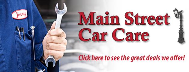 Main Street Car Care Savings
