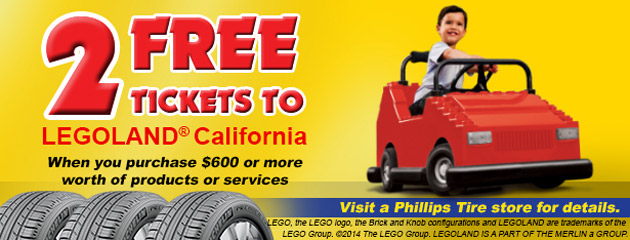 2 Free Tickets To Legoland