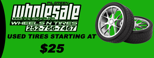 Used Tires Starting at $25