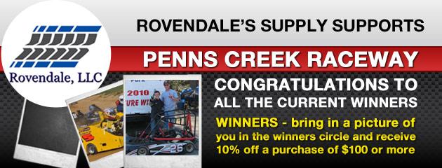 We Support Penns Creek Raceway