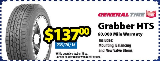 General Grabber HTS Tires