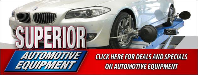 Superior Automotive Equipment Savings