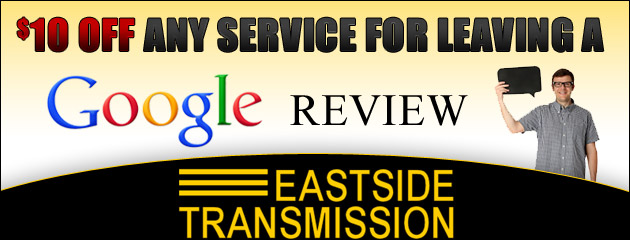 $10 Off Any Service for Google Review