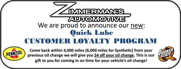 Quick Lube Loyalty Program