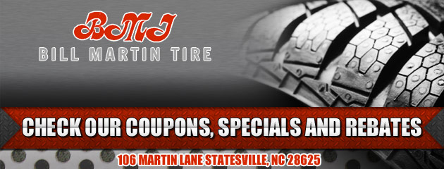 Bill Martin Tire Savings