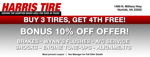 Harris Tire Deals