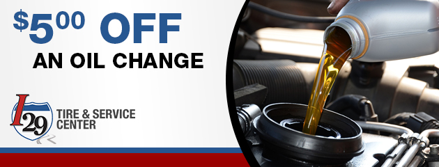 $5.00 off an oil change
