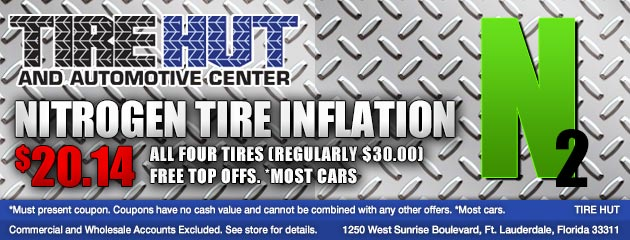 Nitrogen Tire Inflation