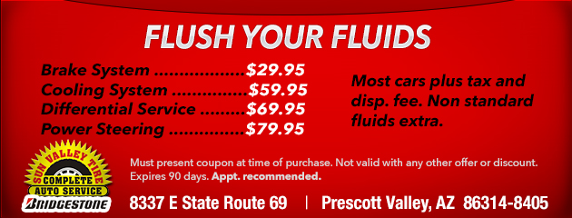 flush your fluids