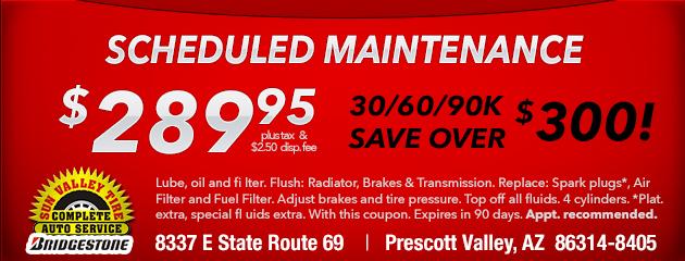$300 Off Scheduled Maintenance