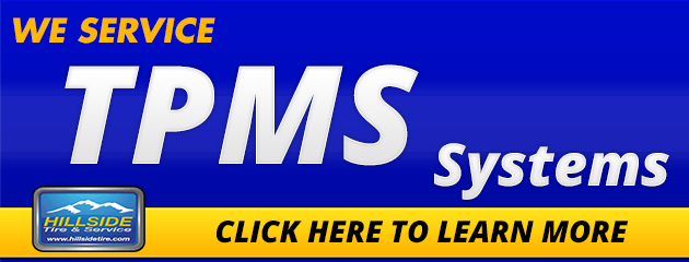 We Service TPMS Systems