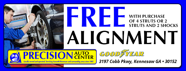 Free Alignment With Purchase