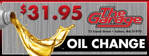 $31.95 Oil Change