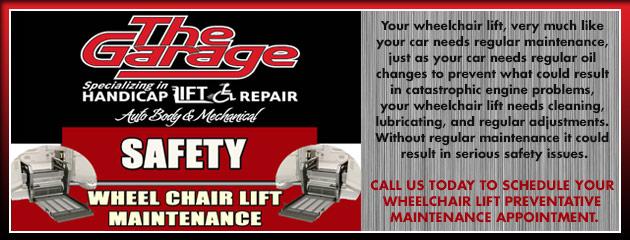 Schedule Wheel Chair Lift Maintenance