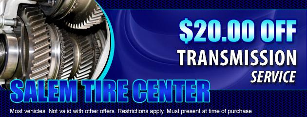 $20.00 OFF Transmission Service
