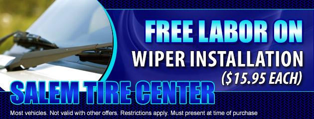 FREE Labor On Wiper Installation