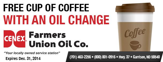 Free Cup Of Coffee With An Oil Change