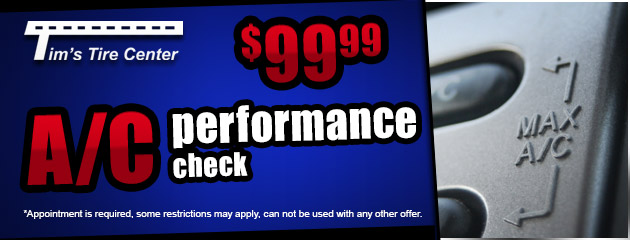 $99 A/C Performance Check