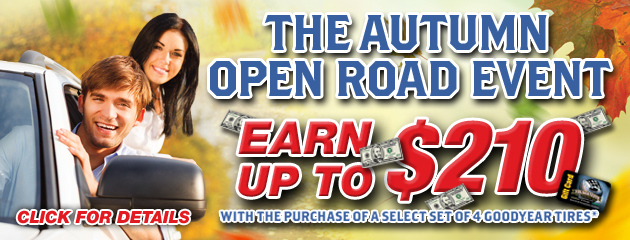 The Autumn Open Road Event