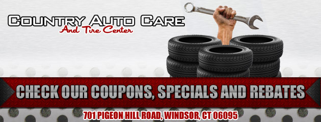 Country Auto Care and Tire Center Savings