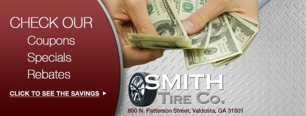 Smith Tire Co Savings