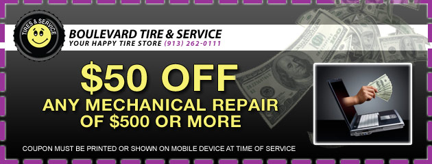 $50 Off Service of $500