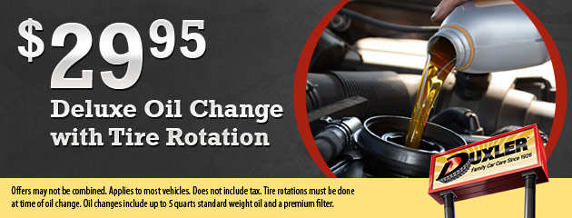 $29.95 Deluxe Oil Change with Tire Rotation