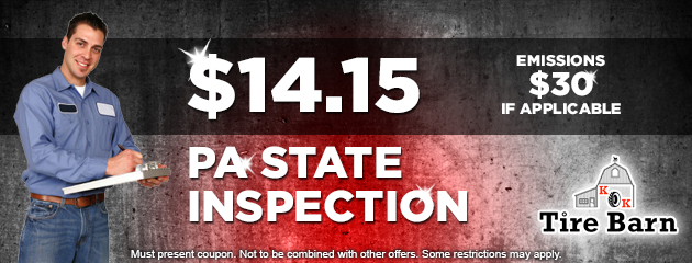 $14.15 PA State Inspection