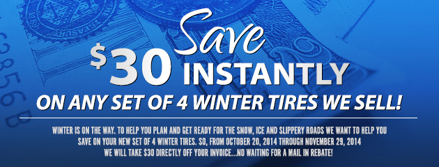 Save $30 Instantly!