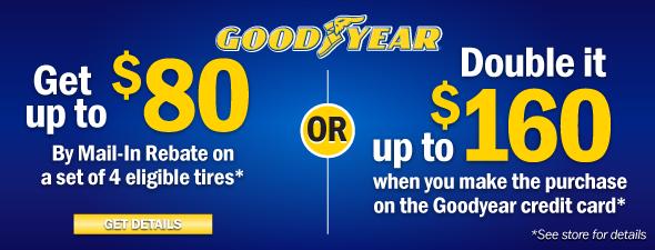 Goodyear Rebates