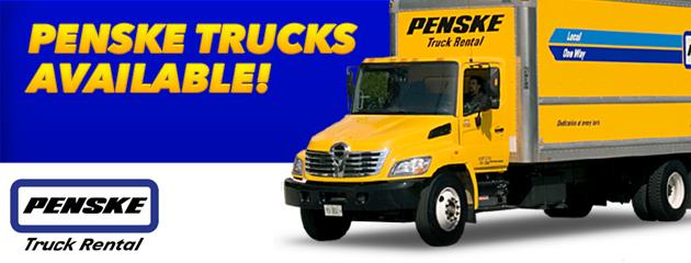 Penske Truck Available!