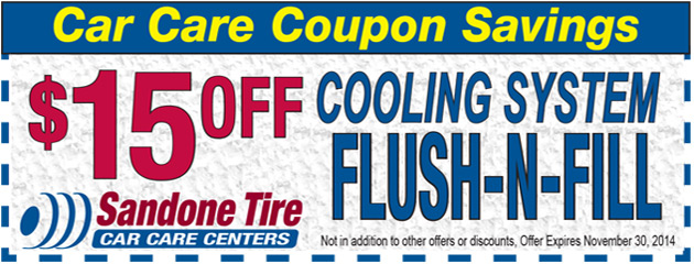 $15.00 Off Cooling System Flush-N-Fill