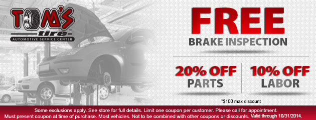Brake Inspection Special